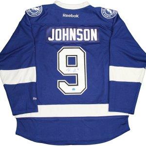 Tyler Johnson Tampa Bay Lightning Signed Reebok Premier Jersey (AJ Sports Auth)