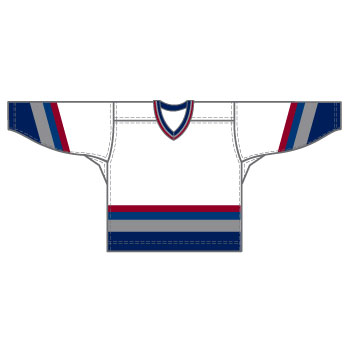 Vancouver 15000 Gamewear Jersey (Uncrested) - White
