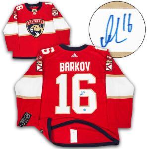 Aleksander Barkov Signed Jersey - Adidas