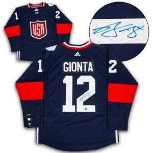 Brian Gionta Signed Jersey - Team USA World Cup of Adidas