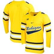 Michigan Wolverines Nike Replica College Hockey Jersey - Maize