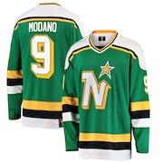 Mike Modano Minnesota North Stars Fanatics Branded Premier Breakaway Heritage Player Jersey - Green
