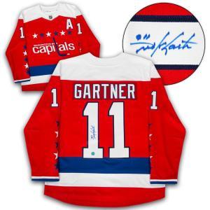 Signed Mike Gartner Jersey - Retro Alt Fanatics