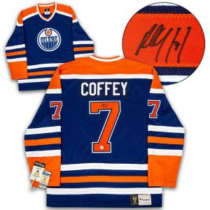 Paul Coffey Signed Jersey - Fanatics Vintage