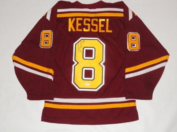 innovative design 5cadb 44abe Amanda Kessel Signed Minnesota Golden Gophers Hockey Jersey Proof Jsa Coa
