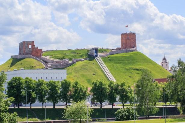 GEDIMINAS' TOWER OF THE UPPER CASTLE, VILNIUS, LITHUANIA