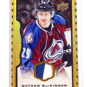 2014-15 UD Masterpieces Nathan MacKinnon #35 Jersey