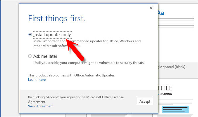 How to Install Office 2016