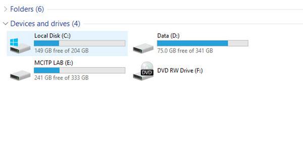 how to delete virtual drive windows 10