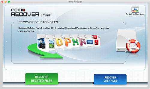 Recover Deleted Files or Lost Files