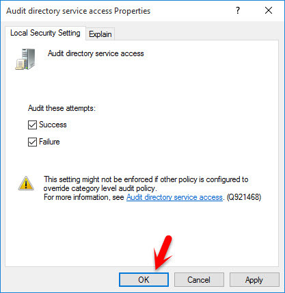 Audit Directory Service Access