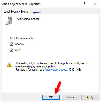 Audit Object Access