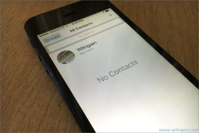 How to import Sim contacts to iOS Devices