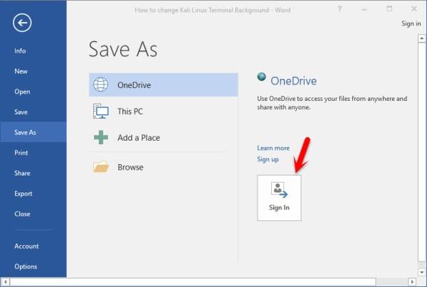 OneDrive Live Storage