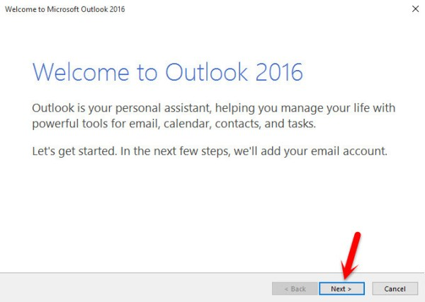 Welcome to Outlook 2016