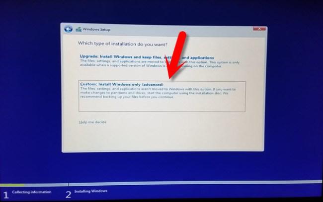 Clean Installation of Windows 10 on Mac