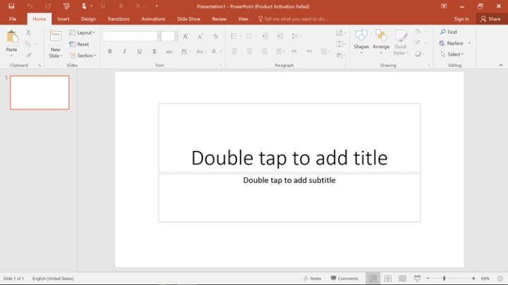 Introducing PowerPoint 2016 User Interface