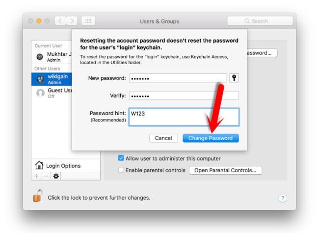How to Reset Forgotten macOS Sierra Password