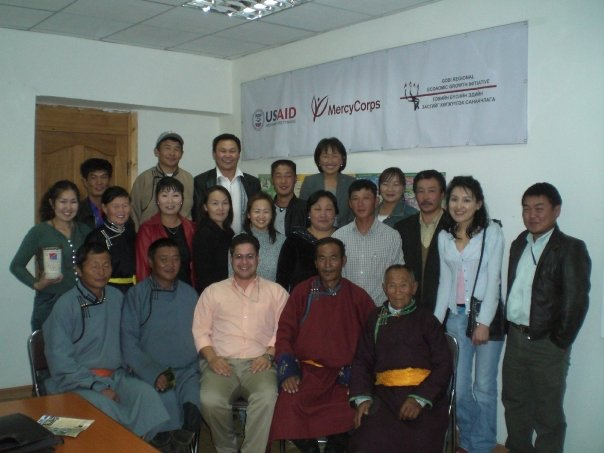 Zanjan Fromer - GER to GER Foundation, USAID, Mercy Corps and Give2Asia