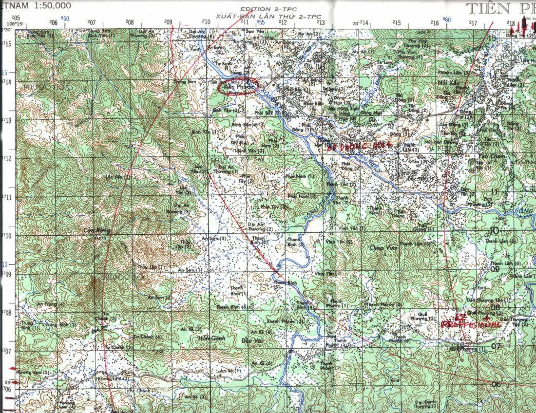 Map Information and Selection  1st Battalion 6th Infantry  US Army     Map Information and Selection  1st Battalion 6th Infantry  US Army  Vietnam
