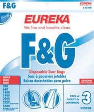 Eureka/Sanitaire F & G Bags - 3pk