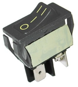 Hayden/Beam 3way Hoseswitch - Rocker w/6 Leads