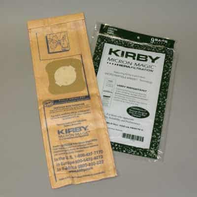 Kirby G6/UG HEPA Paper BAGS - 9pkg