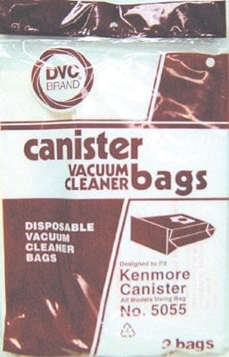 DVC Kenmore 5055 BAGS-3pkg