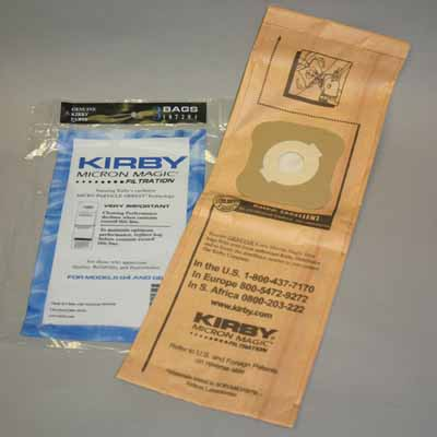Kirby G4/5 Micron Magic BAGS-9pkg