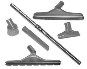 DustCare Deluxe Backpack TOOL KIT-6pc/1.25""