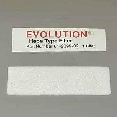 Evolution/Bernina HepaType FILTER-Exhaust 65/67xx