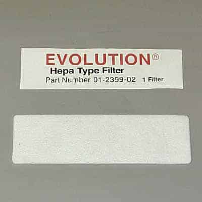 Evolution/Bernina HepaType FILTER-Exhaust 65/67xx