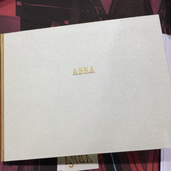 Abra artist's book prototype