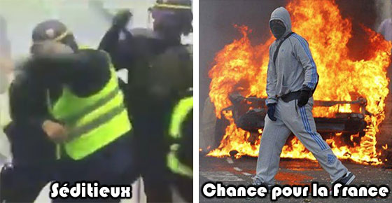 """Résultat de recherche d'images pour """"racaille banlieue voitures incendiées"""""""