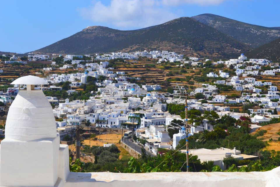 Apollonia, Sifnos city view