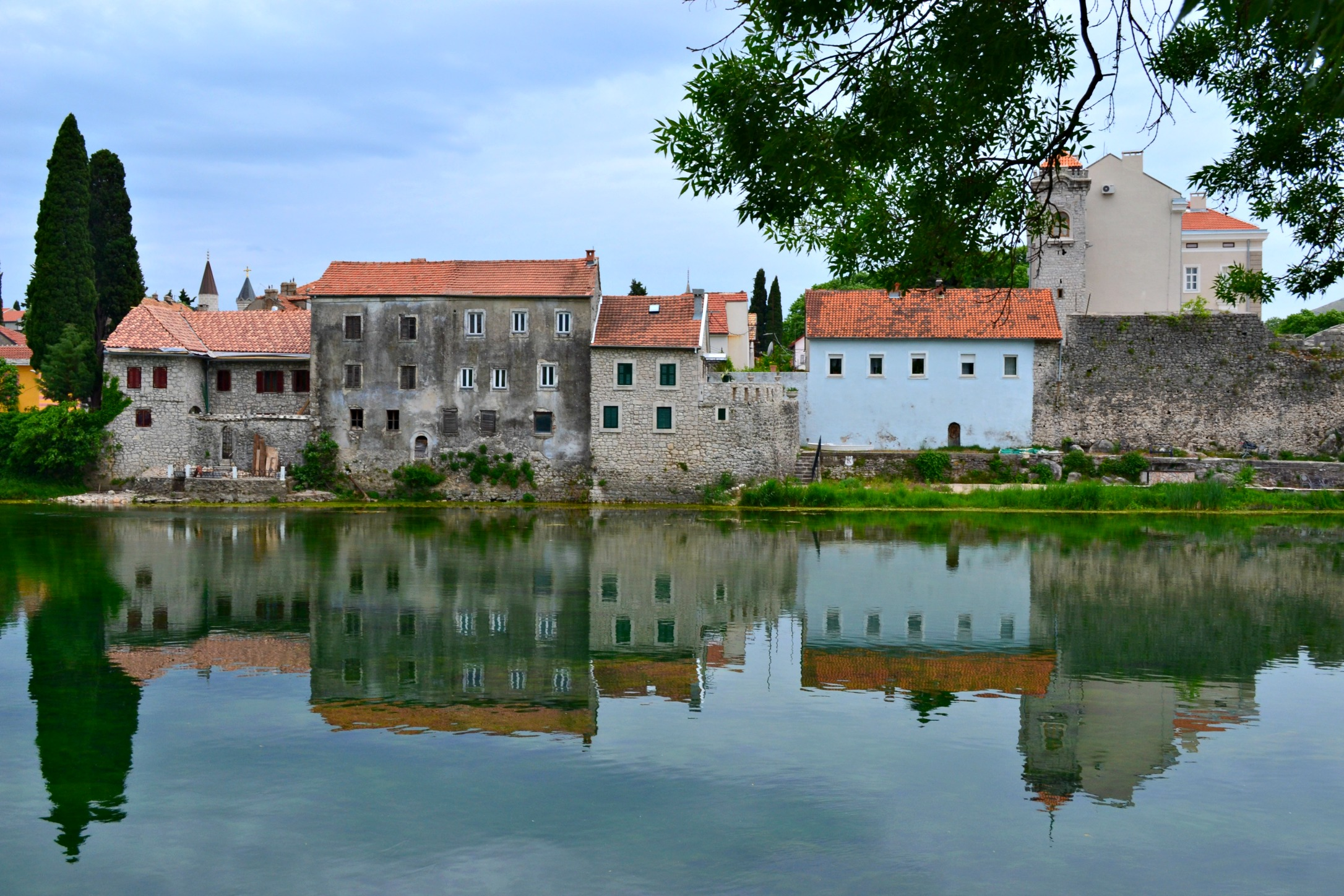 Trebinje, Bosnia and Herzegovina riverside