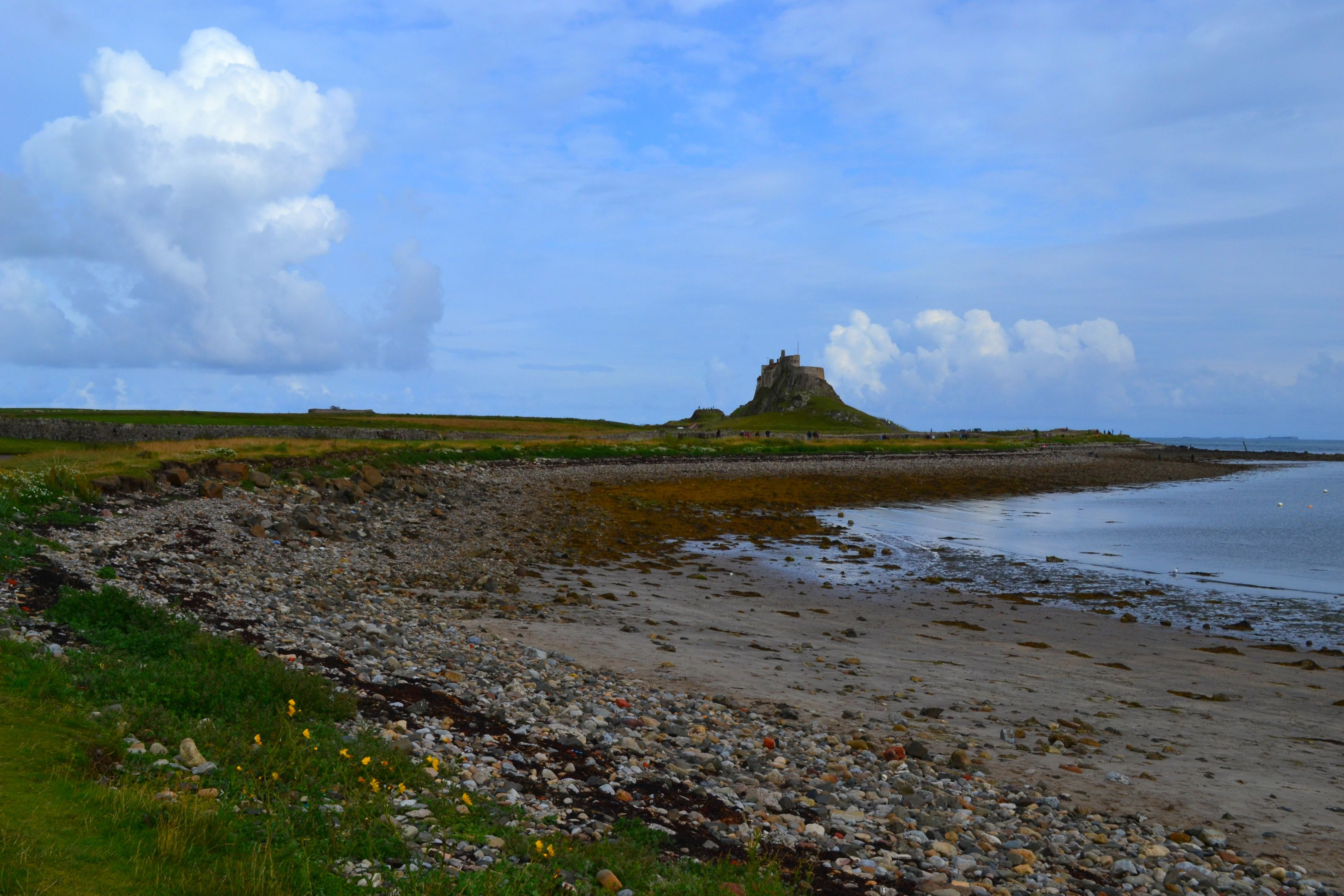The Holy Island Castle