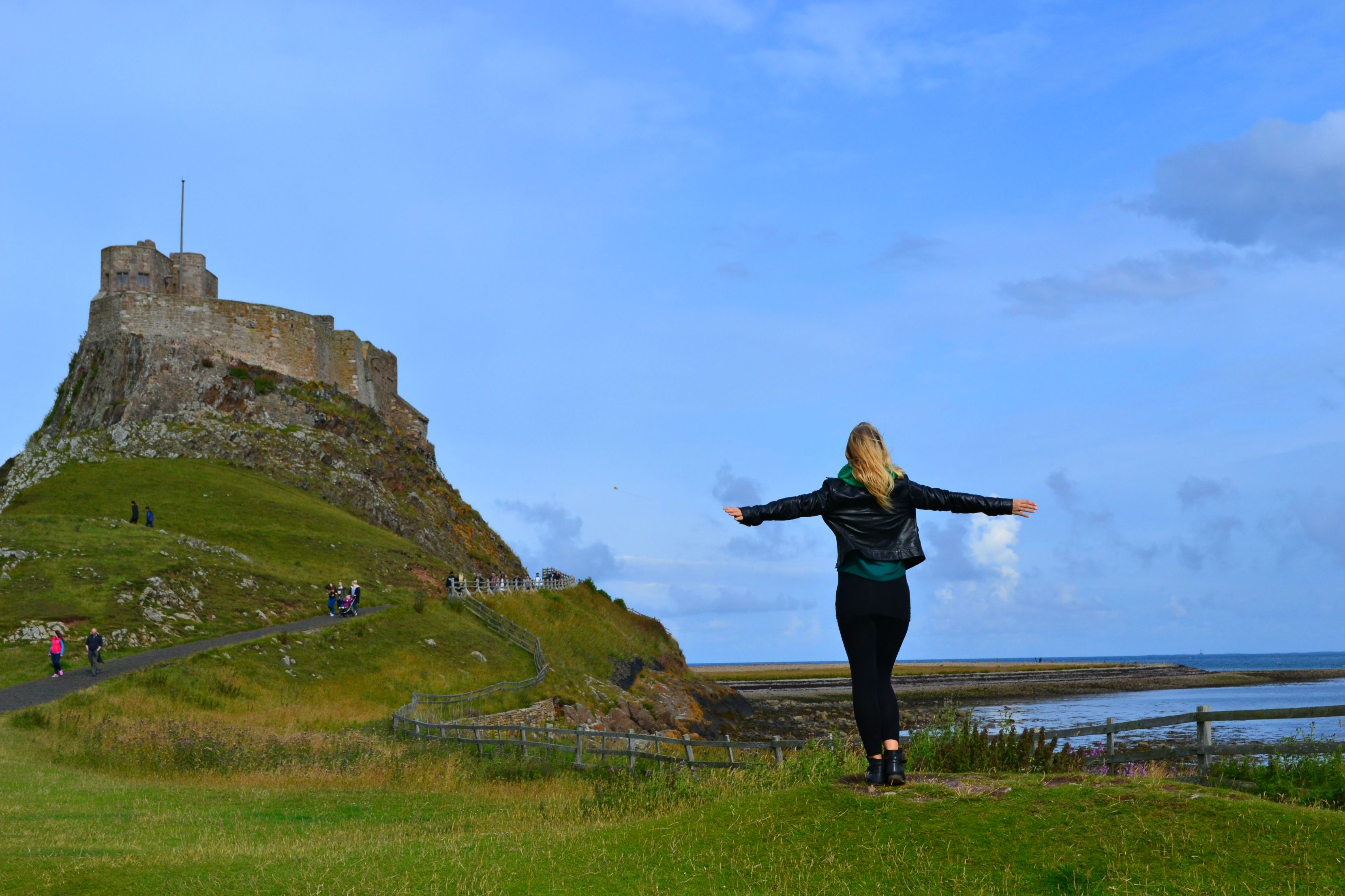 The Holy Island Castle, Northumberland