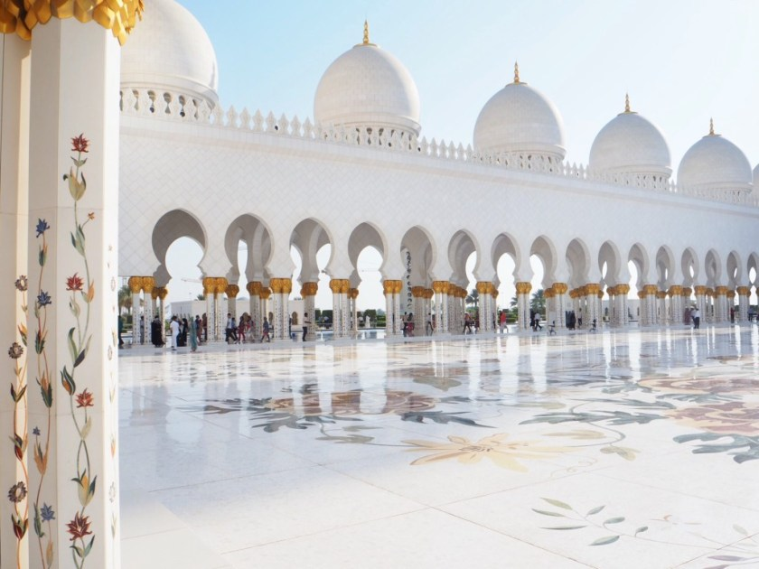 Sheikh Zayed Mosque Abu dhabi, Grand Mosque