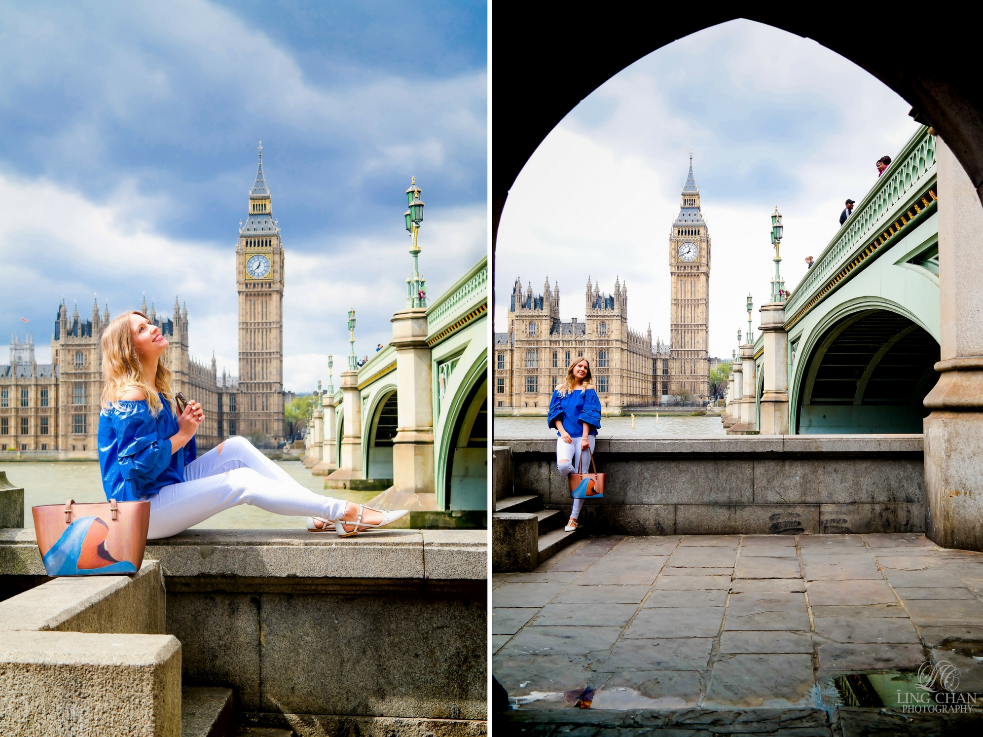 Best photo opportunities near Westminster Bridge, London