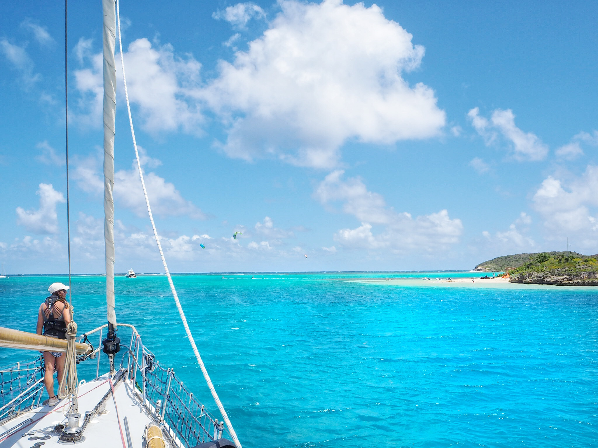 Sailing in Antigua with Sperry and Pangea Exploration