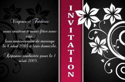d invitation gratuits a imprimer soi