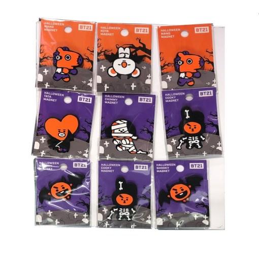 BT21 Halloween Magnet