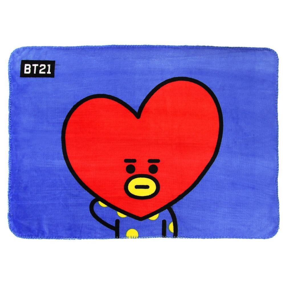 BT21 Authentic Official Edition Kpop BTS Character Emoji Flannel Woolen Blanket