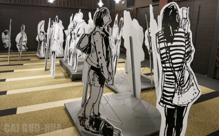 Cai Guo-Hua Installation Works