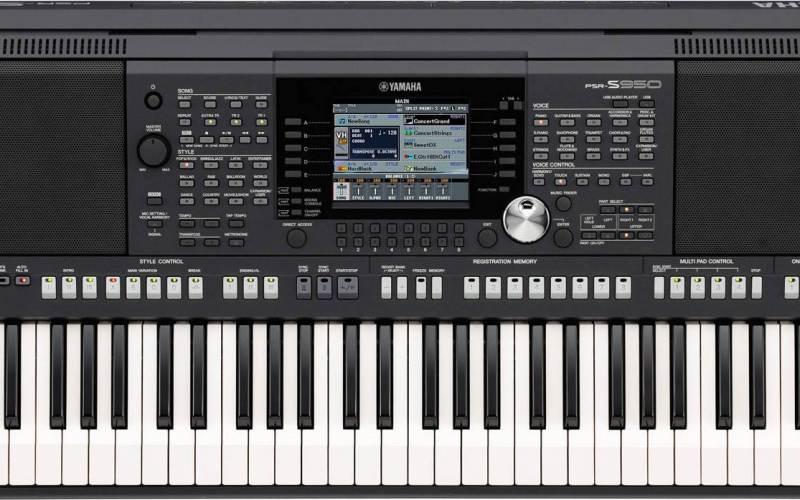 Yamaha PSR S950 Free Styles Download, keyboard styles