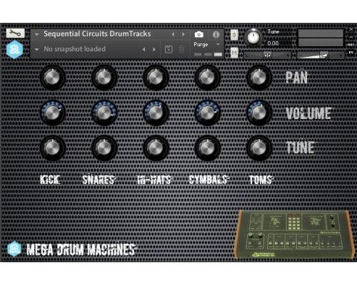 Mega Drum Machines