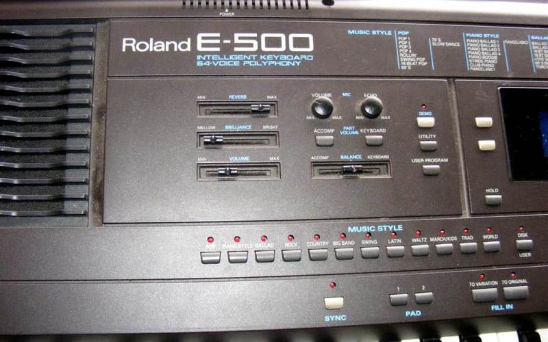 Roland E600 styles, compatible with E500 and E300 - MakeMusic!