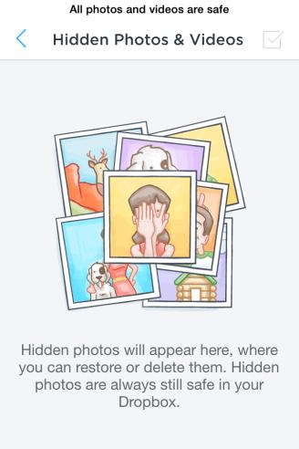 Lege Hidden folder