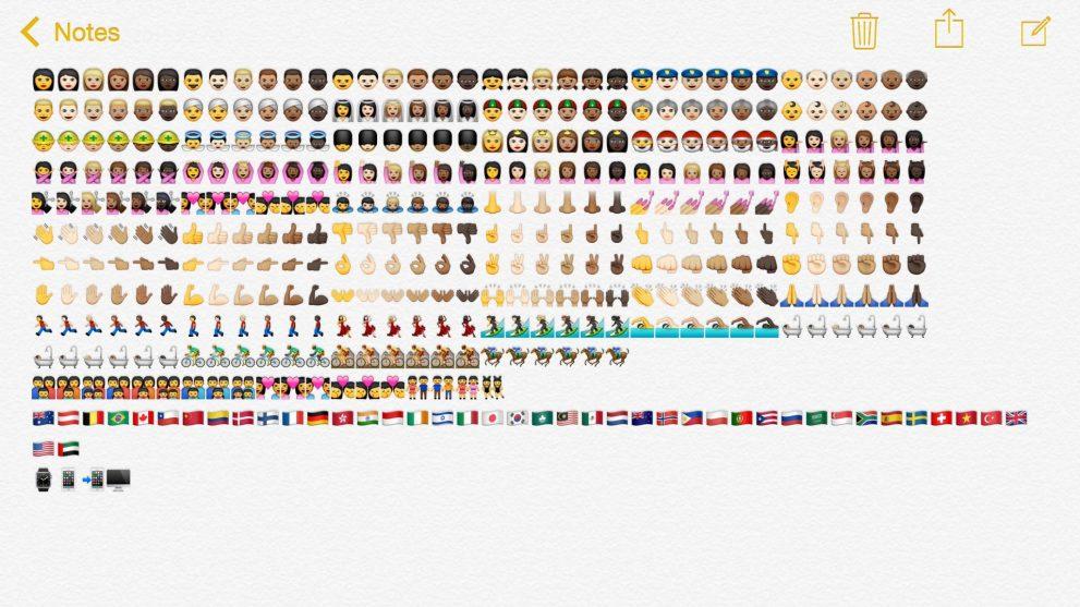 Emoji ios 8.3